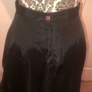 Skirts - Black formal maxi skirt